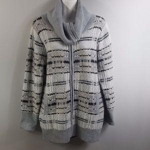 Victoria Secret Cardigan blanket Wool blend S